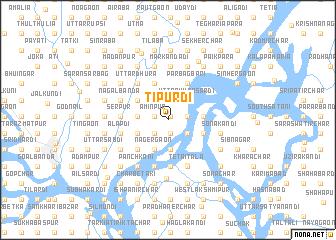 map of Tipurdi
