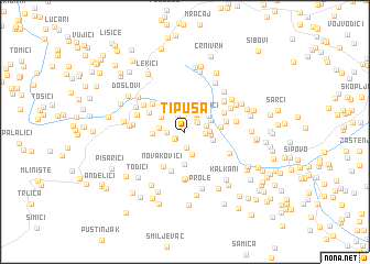 map of Tipuša