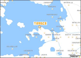 map of Tirasca