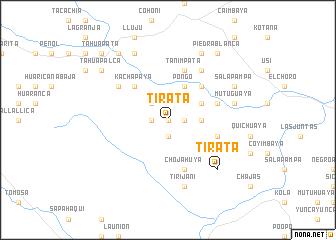 map of Tirata