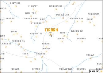 map of Tirbah