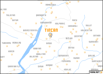 map of Tircan
