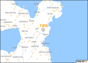 map of Tiris