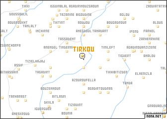 map of Tirkou