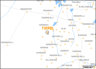 map of Tirpol