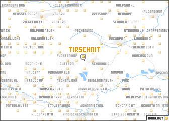 map of Tirschnit