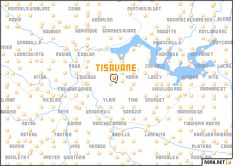 map of Ti Savane