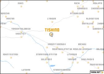 map of Tishino
