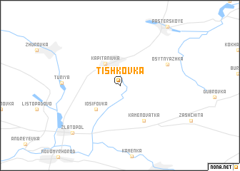 map of Tishkovka