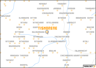 map of Tismorene