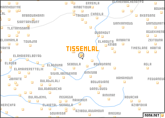 map of Tissemlal