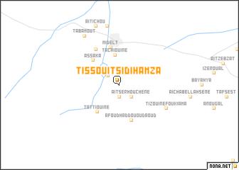 map of Tissouit Sidi Hamza