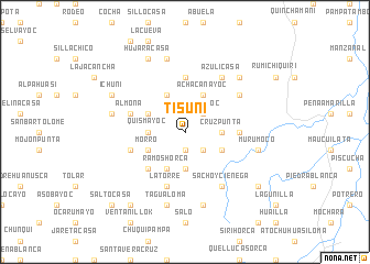 map of Tisuni