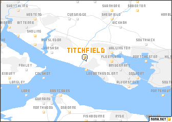 map of Titchfield