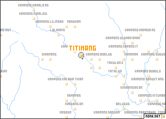 map of Titimang