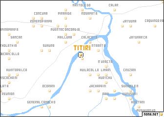 map of Titiri