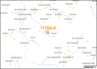 map of Titoula