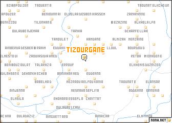 map of Tizourgane