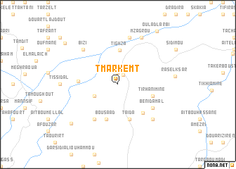 map of Tmarkemt