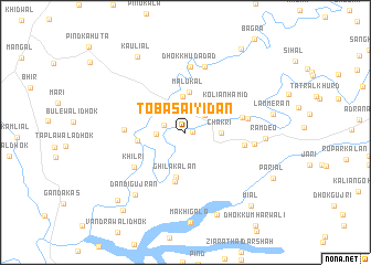map of Toba Saiyidān