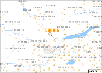 map of Töbring