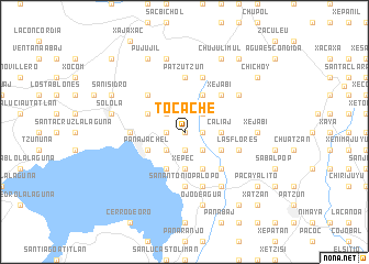 map of Tocache