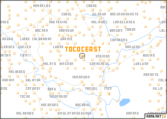 map of Tococ East