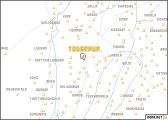 map of Todarpur