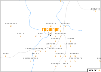map of Toguimba