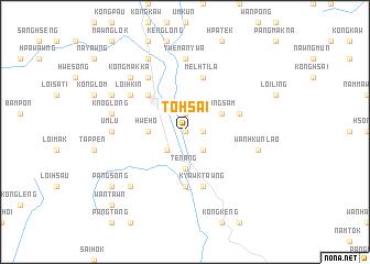 map of Tohsai