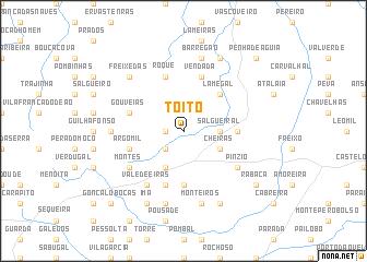 map of Toito