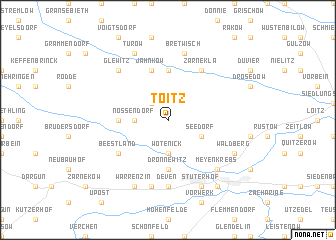 map of Toitz