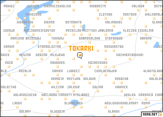 map of Tokarki