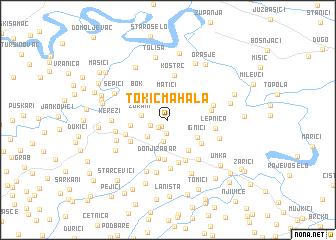 map of Tokić Mahala