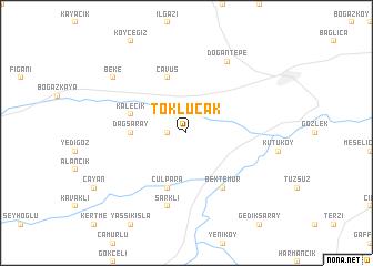 map of Toklucak