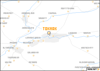 map of Tokmak
