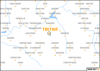 map of Toktwin