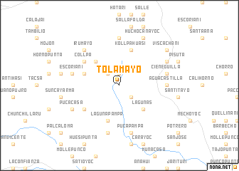 map of Tolamayo