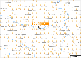 map of Tolarucan
