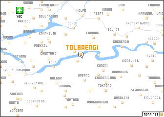 map of Tolbaengi