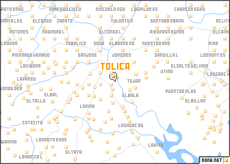 map of Tólica