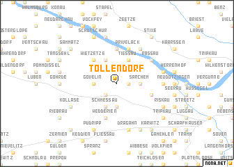 map of Tollendorf