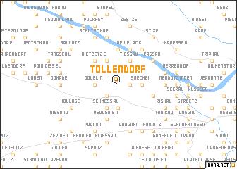map of Tollendorf