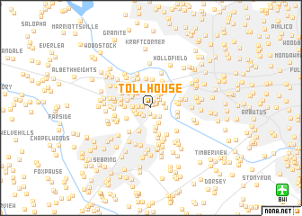 map of Toll House