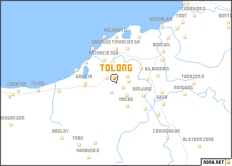 map of Tolong