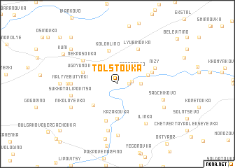 map of Tolstovka