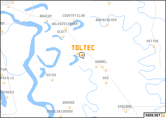 map of Toltec