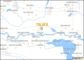 Toluca United States USA map nonanet