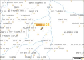 map of Tomadias