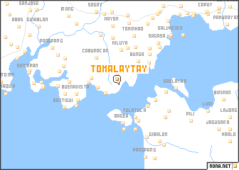 map of Tomalaytay